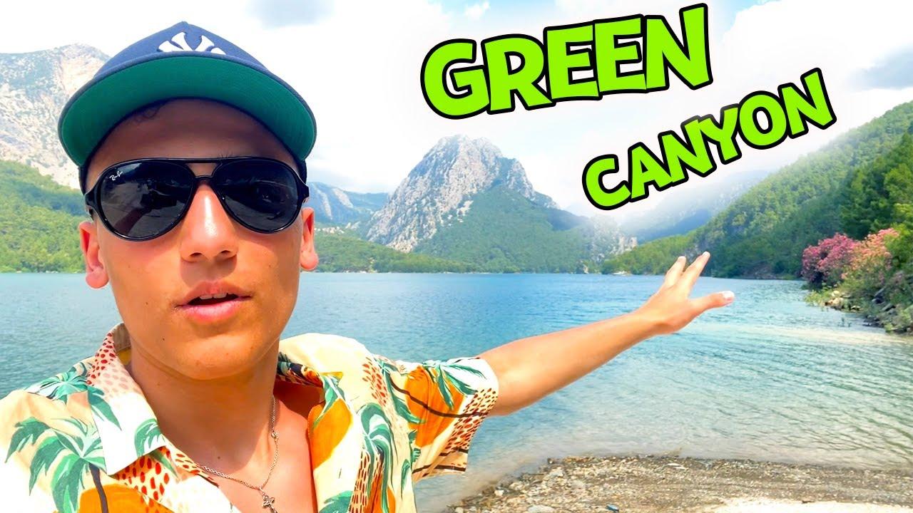 Саша Шоу — Плаваем в ЛЕДЯНОЙ воде на Яхте по Green Canyon ВЛОГ
