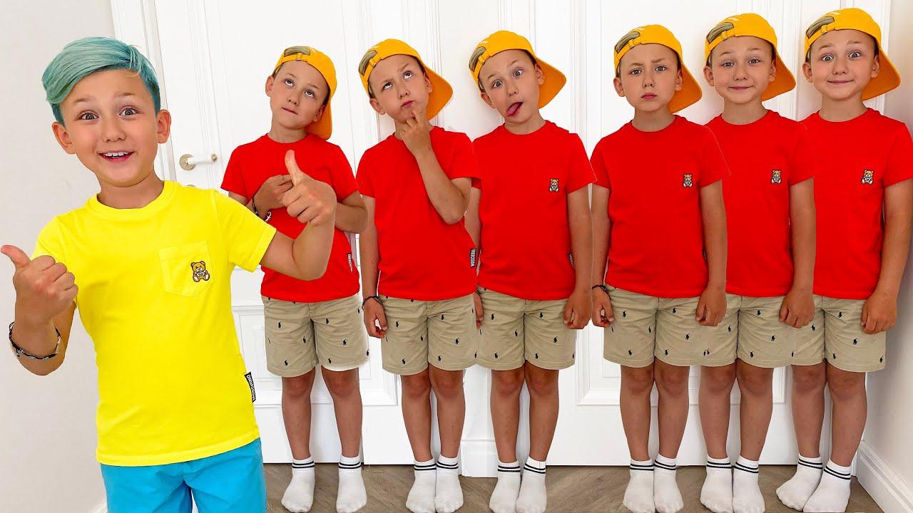 Супер Сеня — Super Senya and 7 baby clones