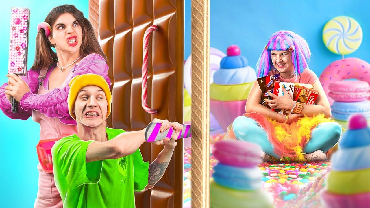 Трум Трум СЕЛЕКТ — Как спрятать сладости дома? Сахарные грабители!