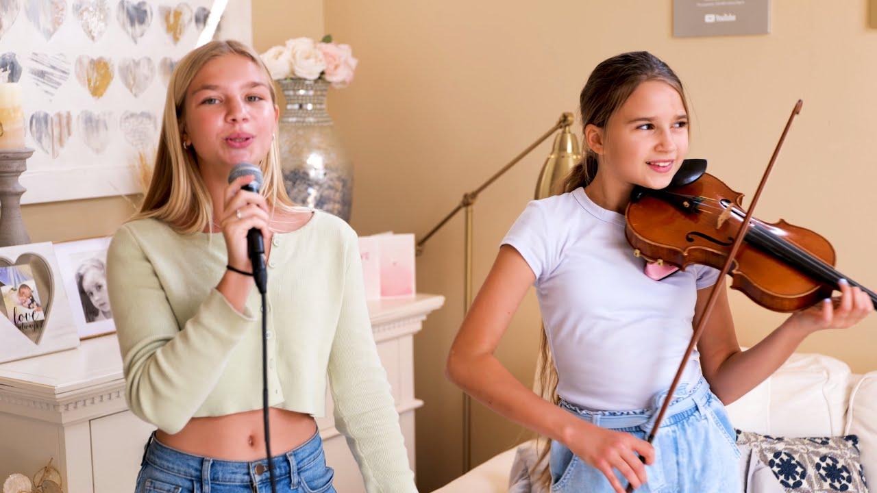 Барвина — Havana — Camila Cabello — БАРВИНА ПОЁТ, Каролина играет на скрипке