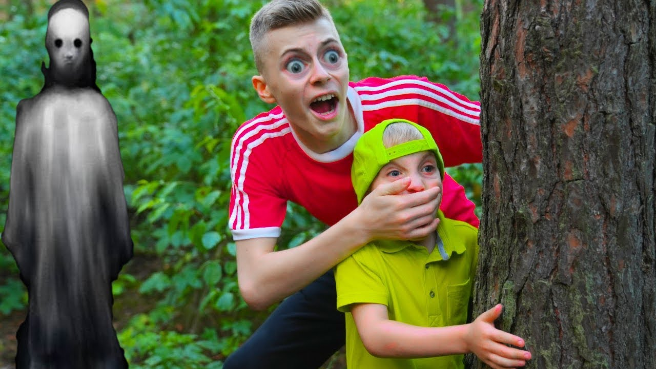 Данила Гро — Попали в лес ПРИЗРАКОВ ! We got into the forest of GHOSTS!