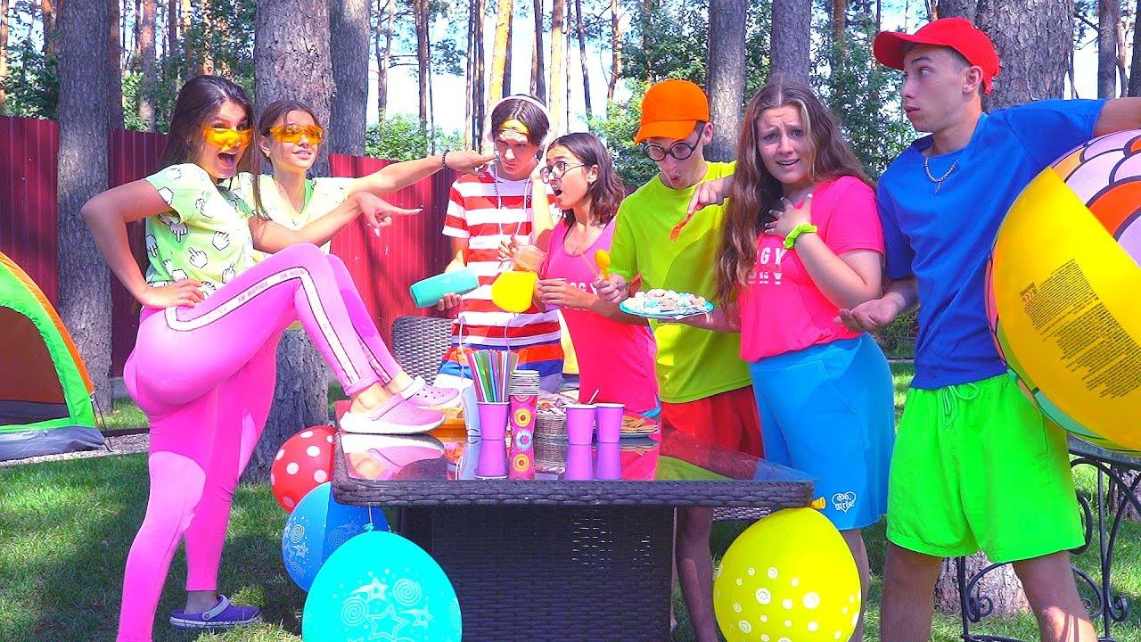 Даша Кошкина — Крейзи ВЕЧЕРИНКА у БАССЕЙНА ! Даша Всё ИСПОРТИЛА ! Crazy Pool Party