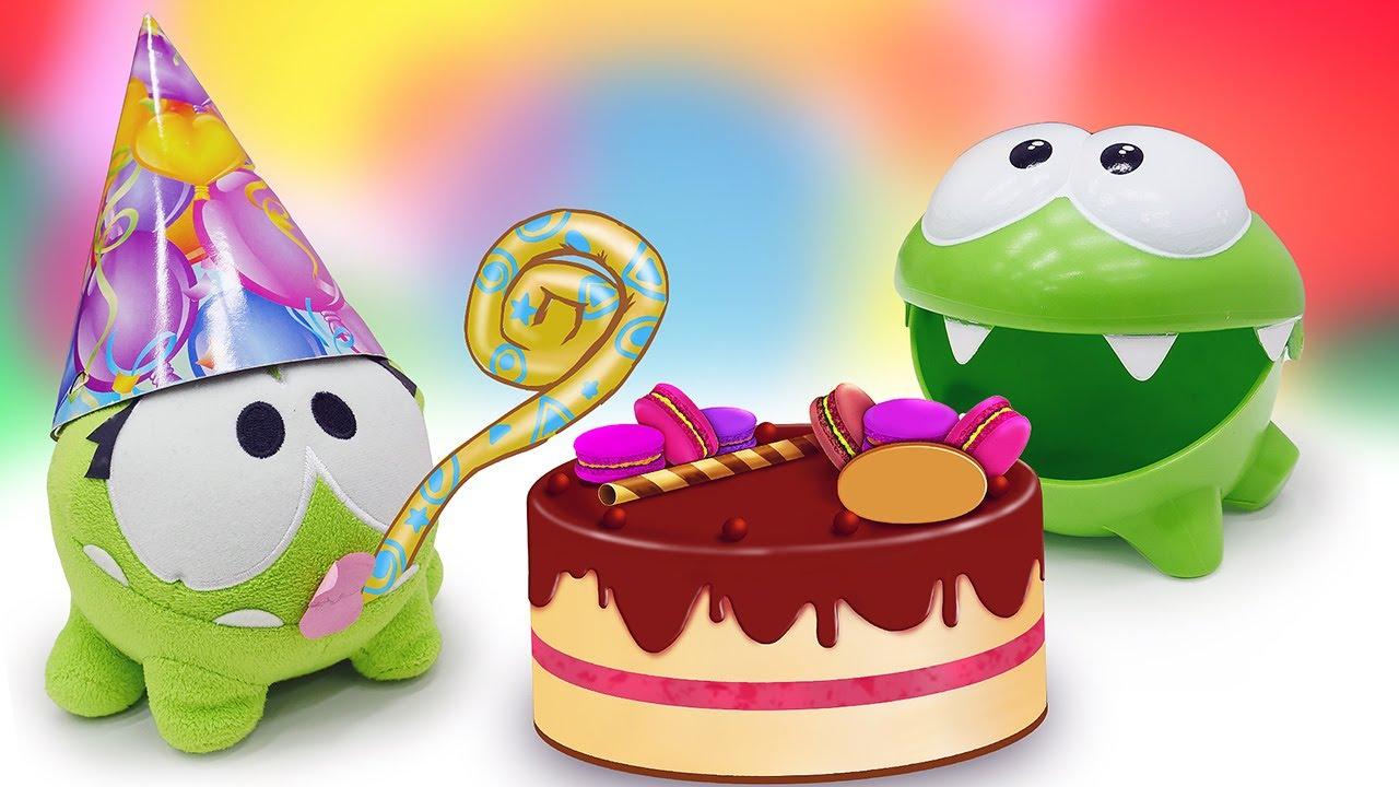 ДиДи ТВ — Ам Ням готовит еду на день рождения! Игрушки для малышей и развивающие мультики для детей