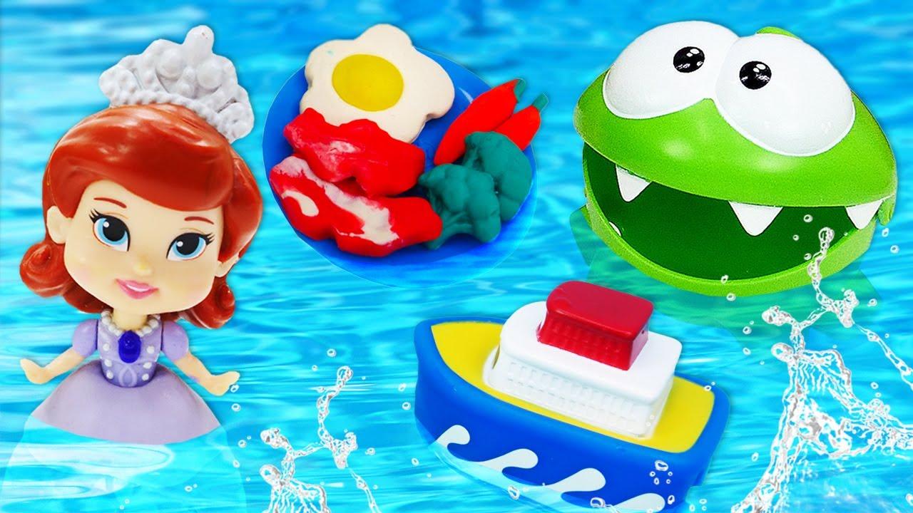 ДиДи ТВ — Ам Ням и поиск игрушек в бассейне! Сборник — Развивающие видео для малышей про игрушки и машинки