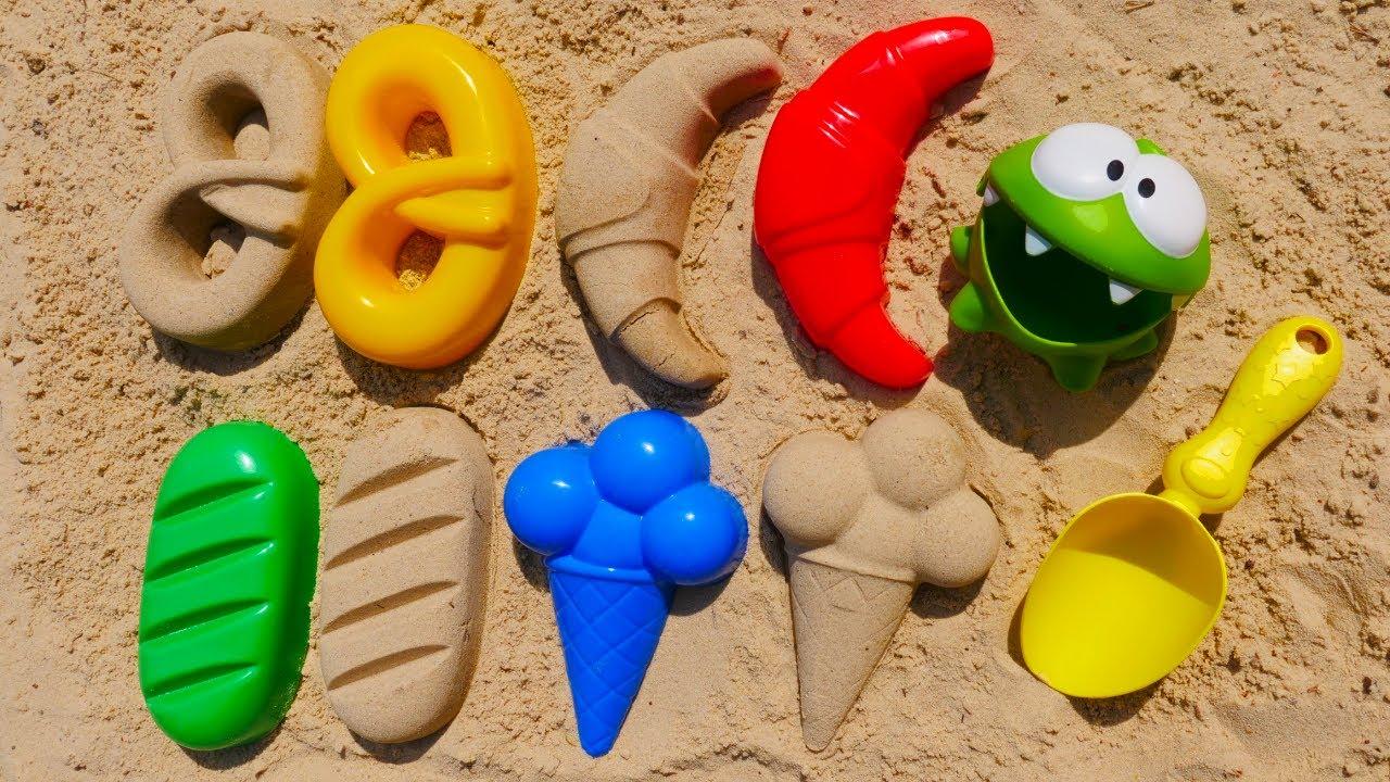 ДиДи ТВ — Ам Ням и вкусняшки в песочнице! Развивающие мультики для самых маленьких про игрушки