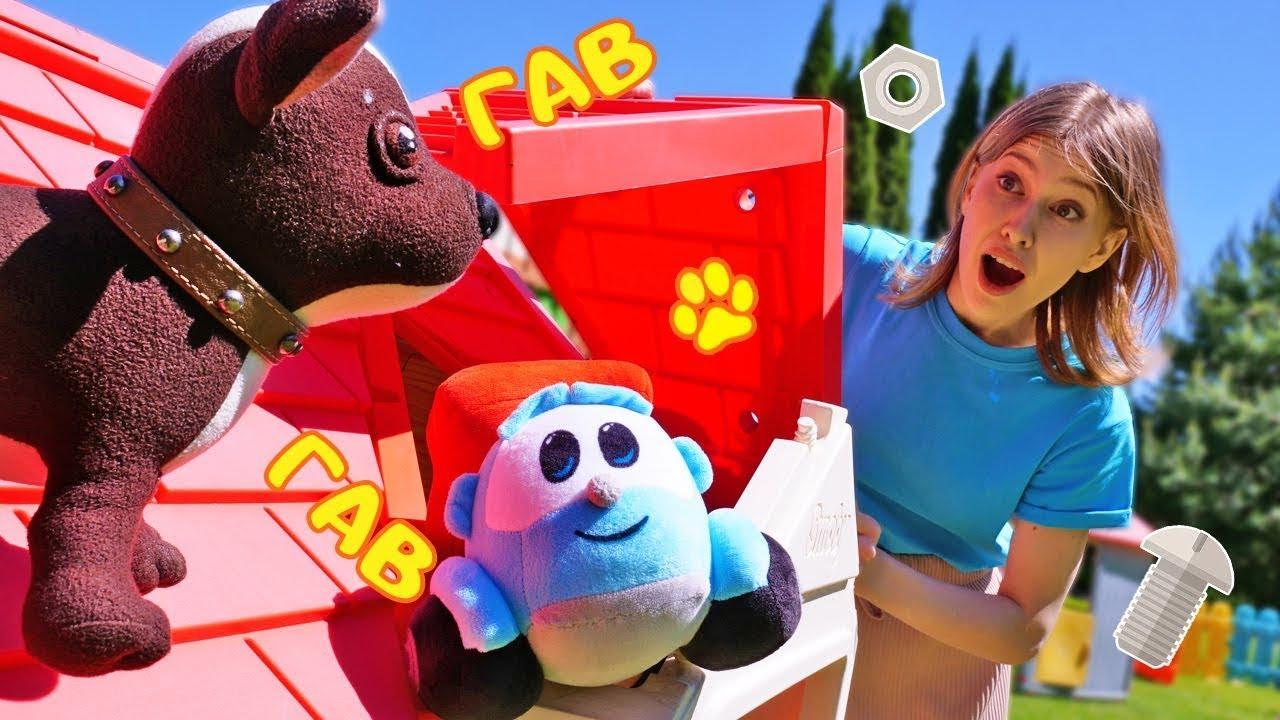 Как МАМА — Грузовичок Лёва зовет на помощь! Игры для детей на детской площадке в шоу Как мама