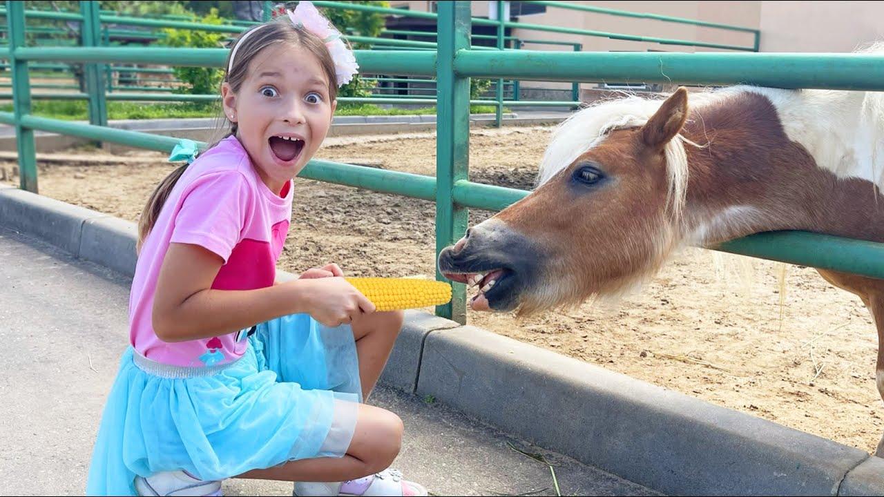 Маленькая Мисс София — София и веселая история с животными на ферме