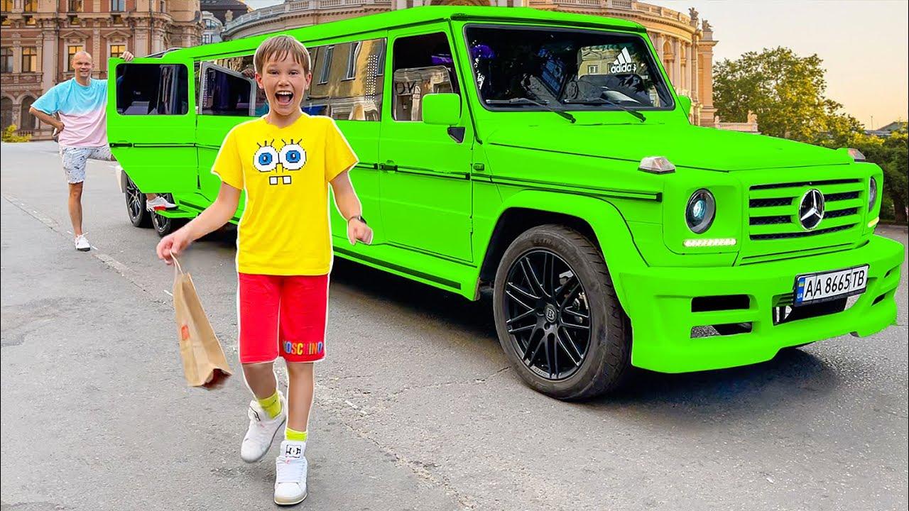 Мистер Макс — Макс на лимузине — Катя на трамвае челлендж