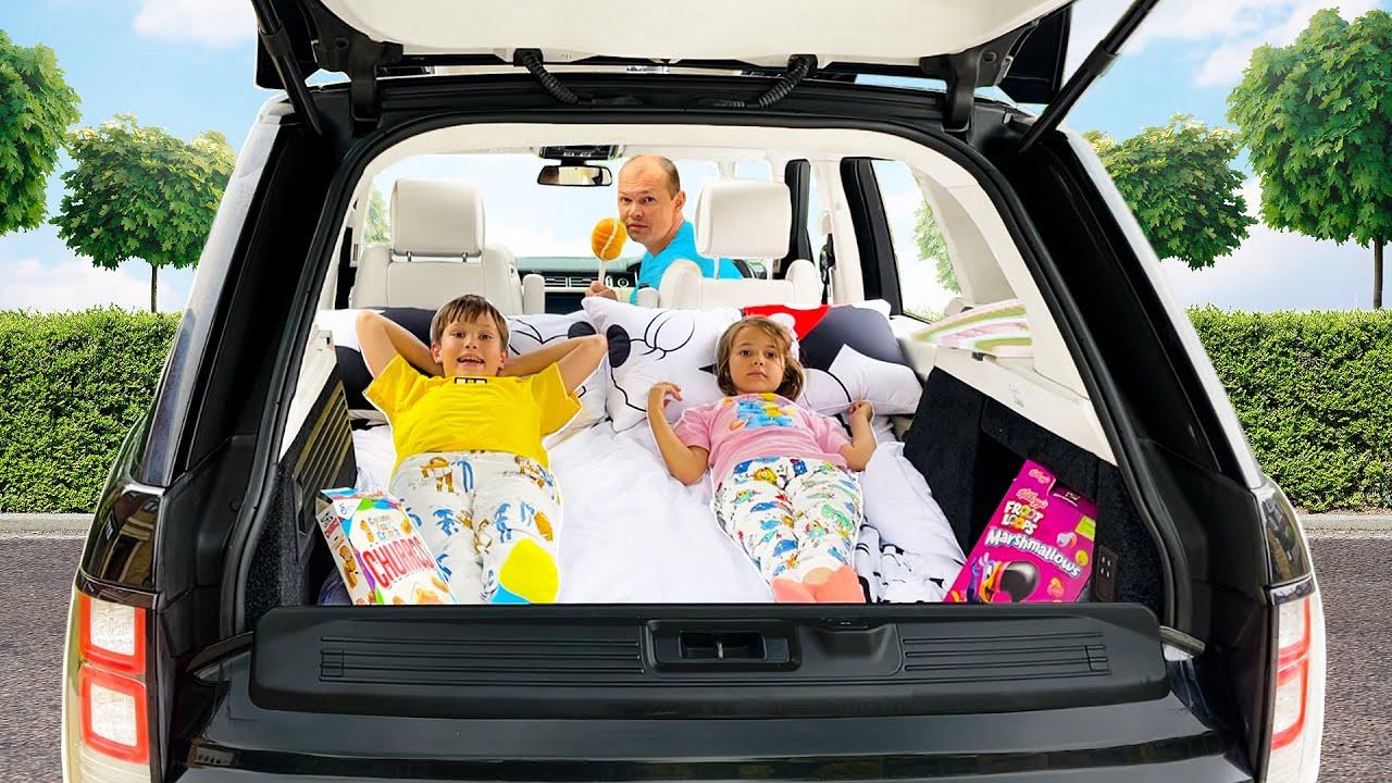 Мистер Макс — Провели Целый день у папы в машине Макс и Катя