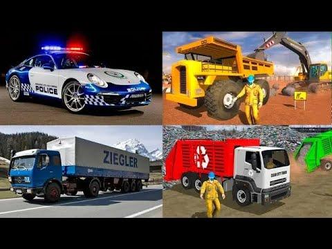 Мультфильмы про транспорт для детей — Полицейская Скорая помощь. Мультик пазл. Новые видео 2021 года