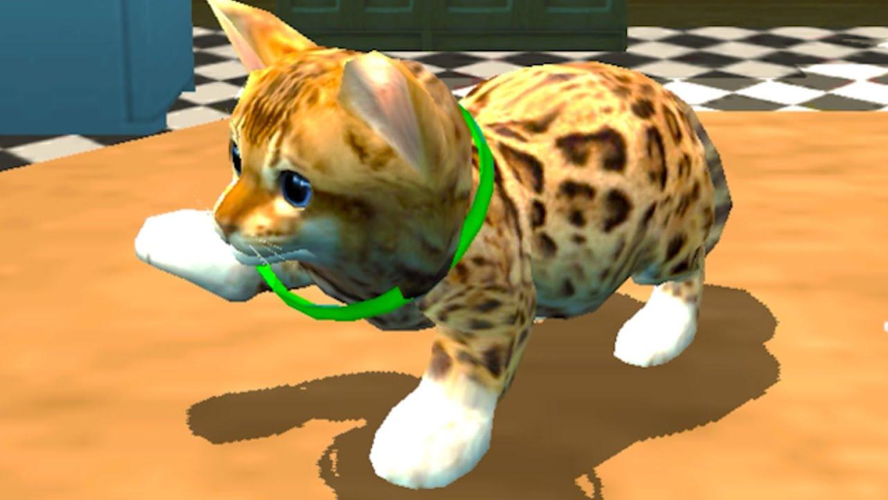 Пурумчата — Симулятор Кота #1 Cat Simulator Kitty Craft Pro с Кидом. Гренни в ванне. Охота на мышей на пурумчата