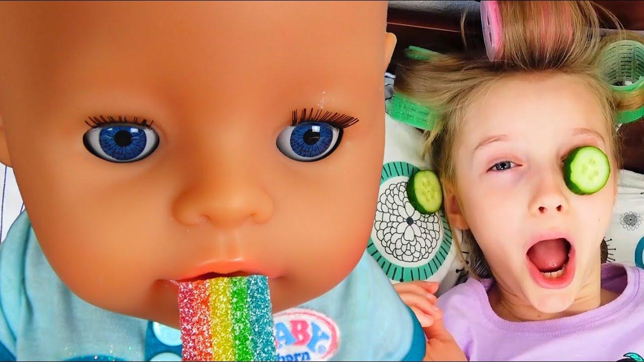 Супер Полина — Полина и веселые истории с игрушками