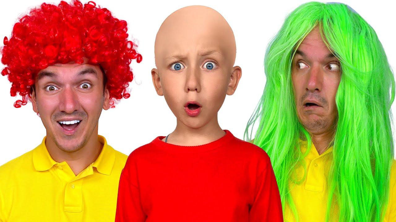 Супер Сеня — Сеня, папа и цветные головы