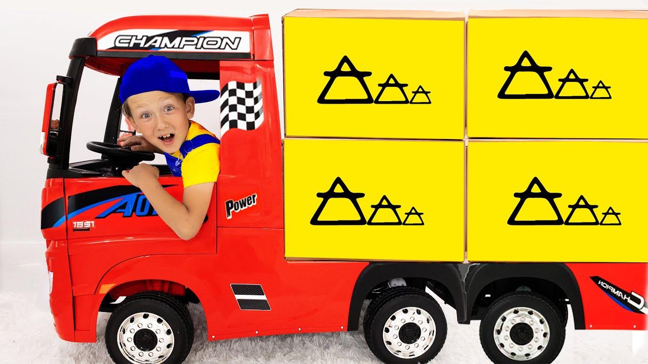 Супер Сеня — Супер Сеня и его истории про грузовик