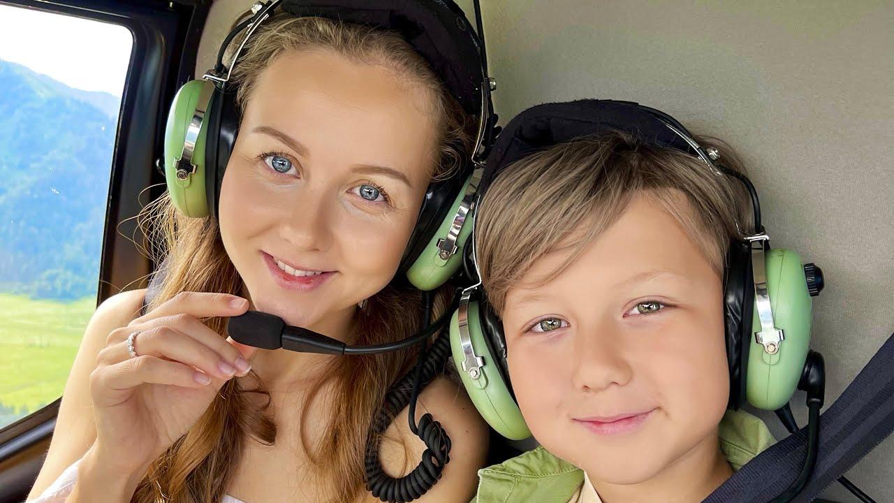 Супер Сеня — ВЛОГ — Новый Вертолет для Папы — Алтай