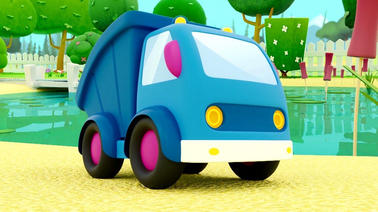 Теремок ТВ — Машинки Мокас: песенка про машинки! — Песенки для детей