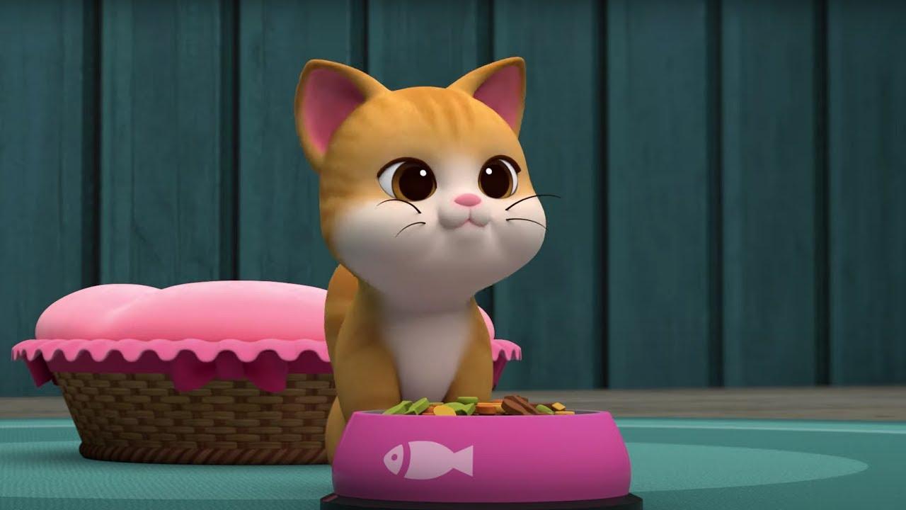 Теремок ТВ — Робокар Поли 🎼 Музей песен 🐱 Я люблю кошек — песенка про котят и кошек