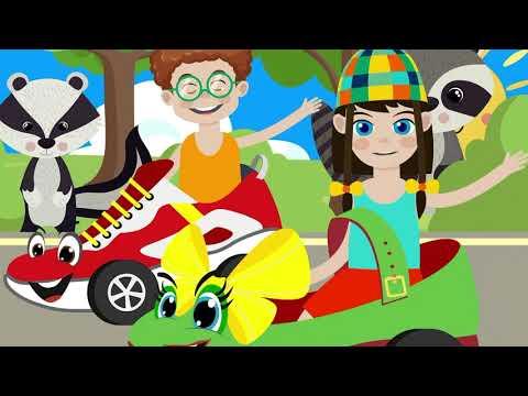 Теремок ТВ — Зен и Ден — Зебра в клеточку — Веселые детские песенки