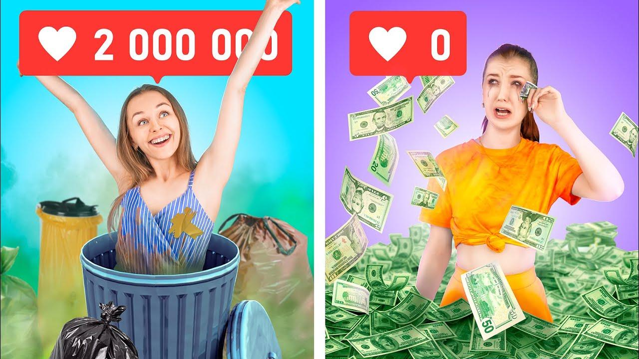 Трум Трум СЕЛЕКТ — Богатая непопулярная vs бедная популярная / Смешные ситуации