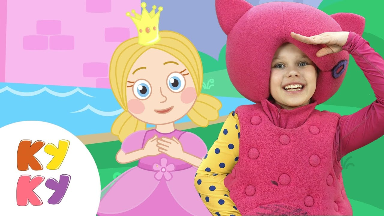 Жила-была Принцесса — Кукутики — Песенка мультик для детей малышей