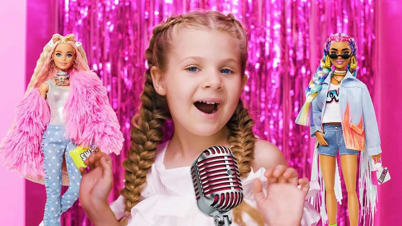Diana and Roma — Welcome to my Barbie Party — Kids Song (Official Music Video)