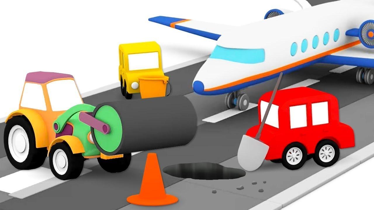 ДиДи ТВ — 4 машинки мультики для детей про четыре машинки. Новая серия — аэропорт