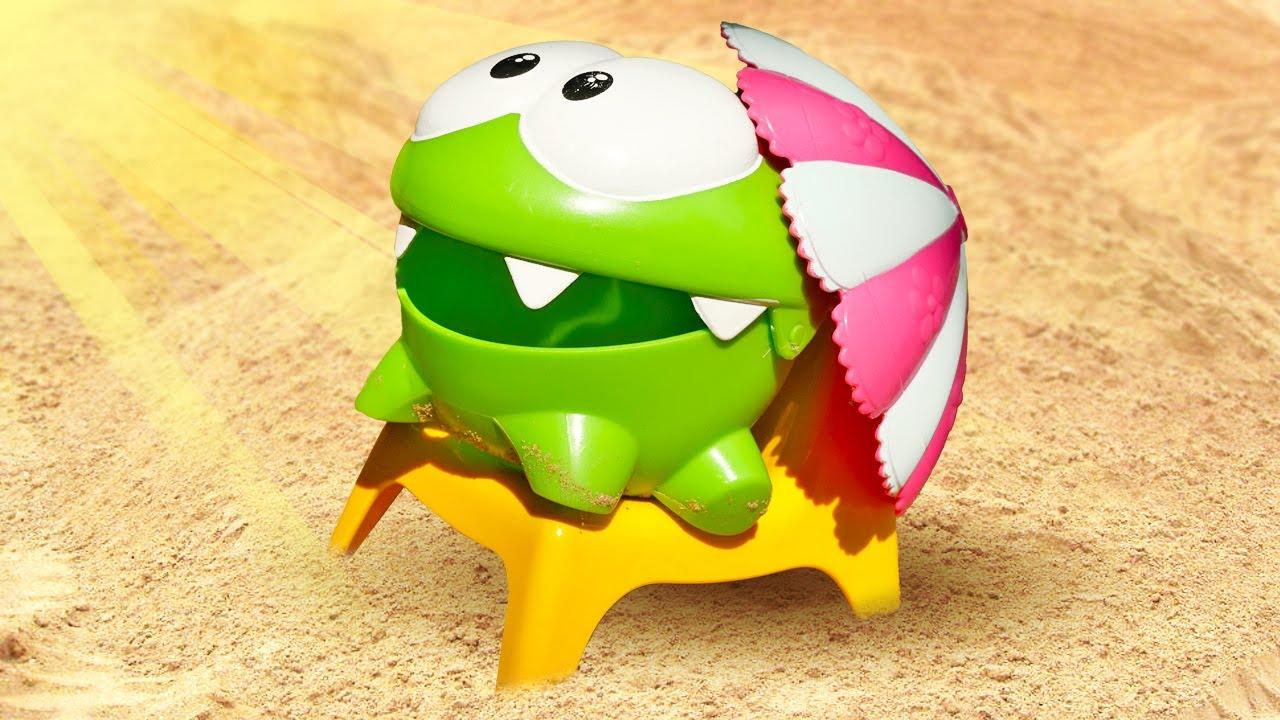 ДиДи ТВ — Ам Ням играет с друзьями в Песочнице! — Детские видео игрушки. Развивающие мультики для детей