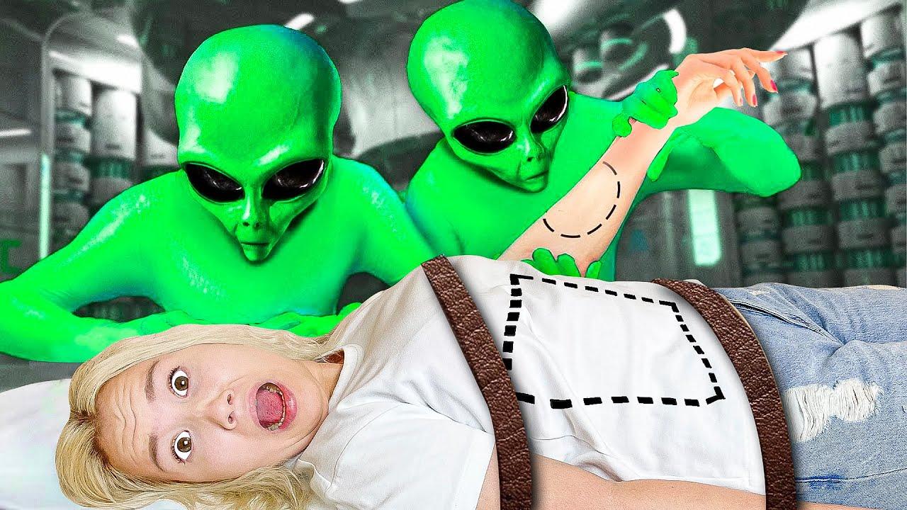 Инопланетяне в Реальной Жизни ! *ПРИШЕЛЬЦЫ у нас дома?*