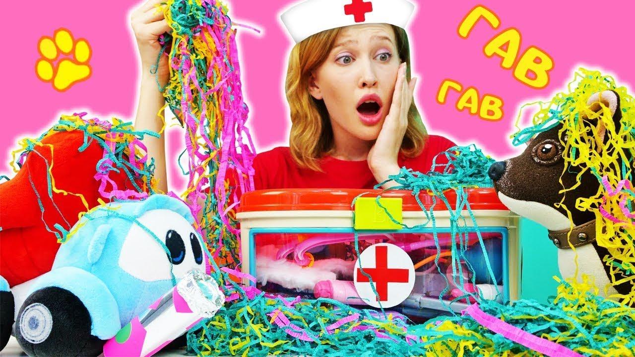 Как МАМА — Грузовичок Лёва нашел Хлопушку! Видео для детей про игрушки и игры в доктора — Как мама Шоколадки