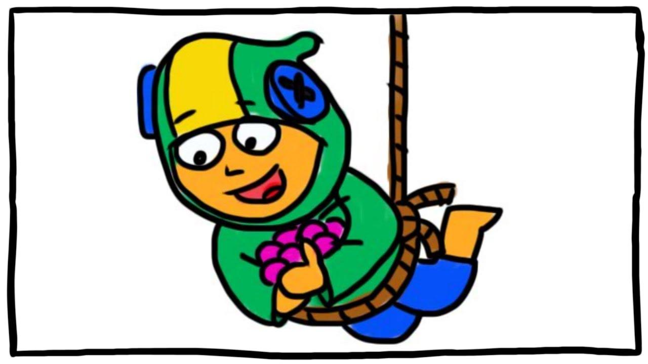 Каляка Маляка — ЧТО НАРИСОВАТЬ #2. Леон забирает конфеты Сэнди.