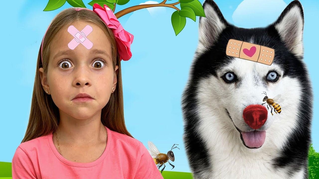 Маленькая Мисс София — Бу бу история с Софией! Fun the Boo Boo story from Sofia and Dog