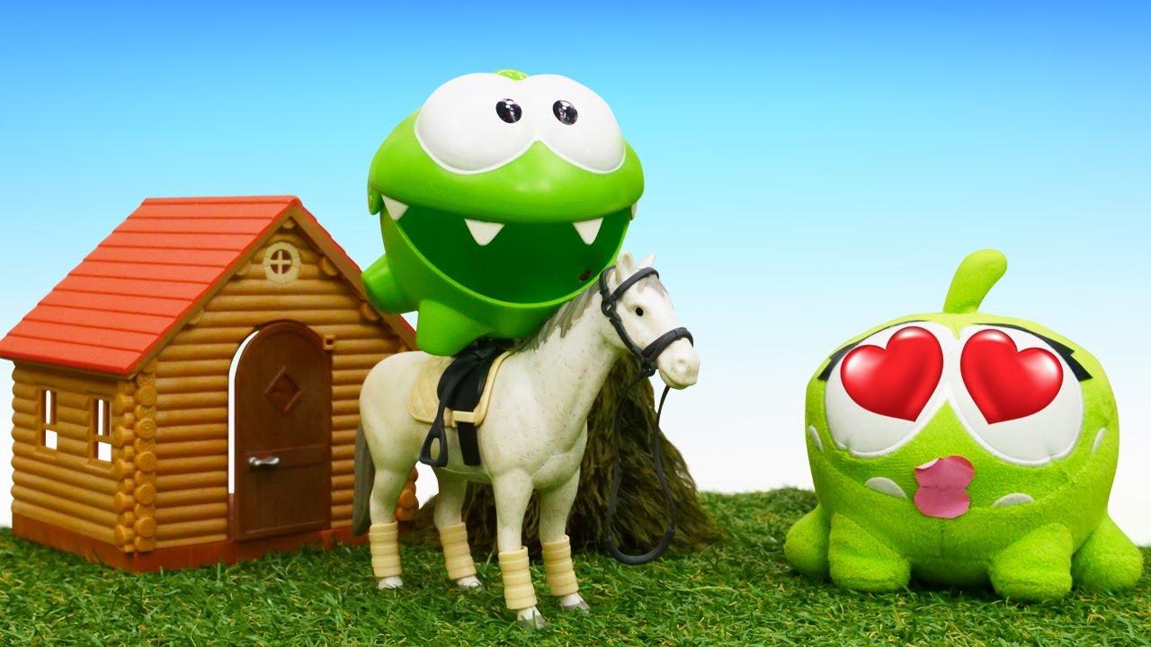ДиДи ТВ — Ам Ням и верховая езда! Развивающие мультики для детей про игрушки и приключения Ам Няма