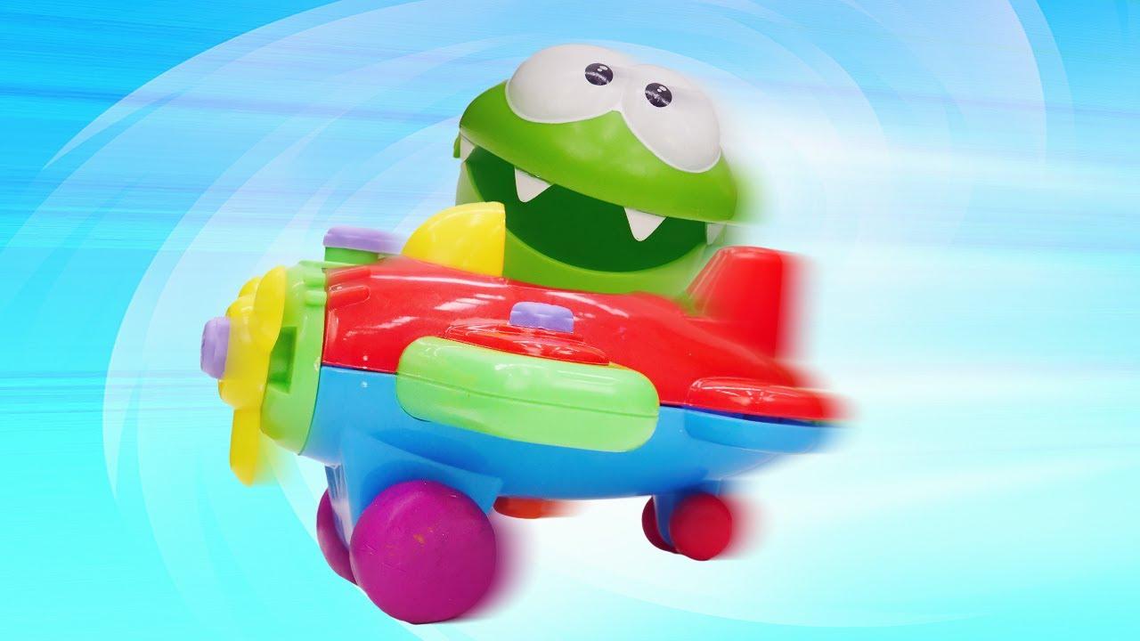 ДиДи ТВ — Ам Ням строит самолет! Развивающие мультики и видео для детей с игрушками про приключения Ам Няма