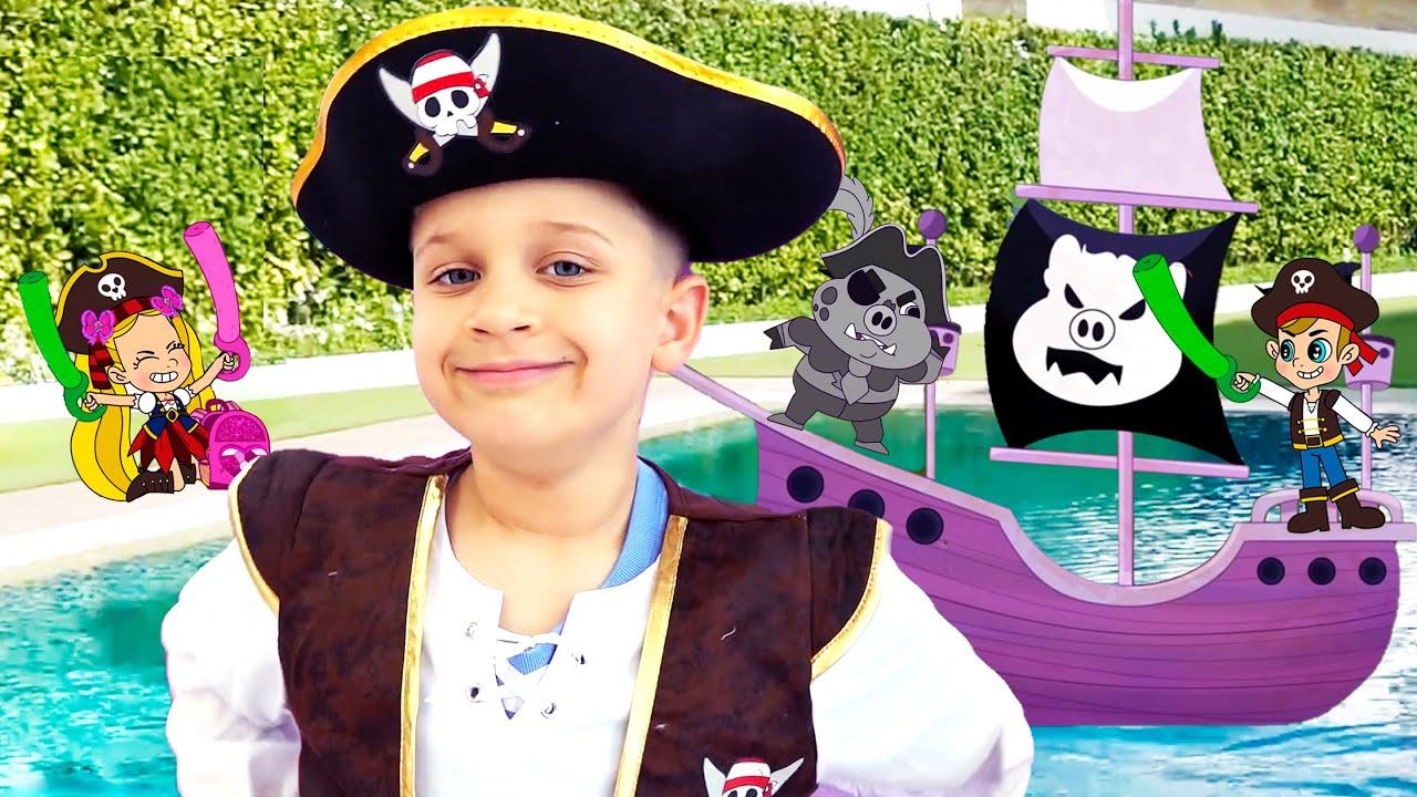 Кидс Рома Шоу — Roma and Diana Adventures in a Magical Cartoon World! Сompilation 4, Funny Cartoons for kids