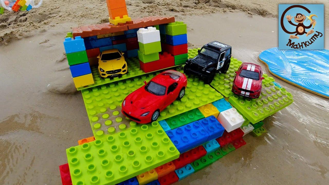 Манкиту — Дети и Машина. Строим домик для игрушек и Защиту от шторма. Манкиту