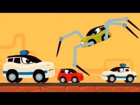Мультики про машинки — Машинка Редди бежит от полиции Погоня. Мультфильмы 2021 новые серии.