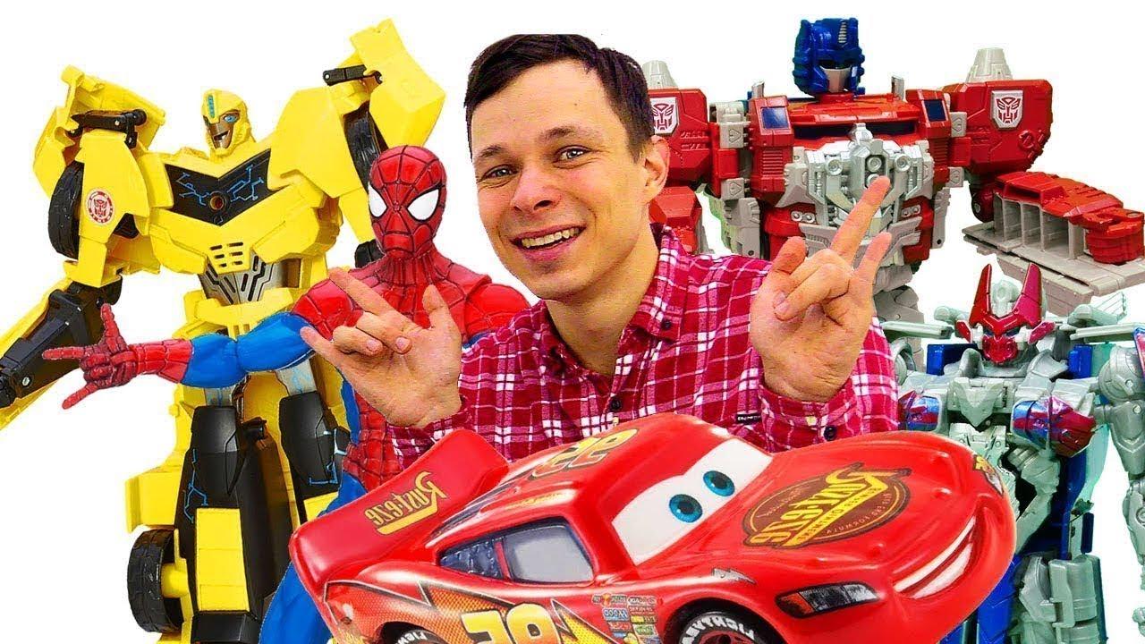 ПАПА тайм — Фёдор и игры для мальчиков LIVE 🔴 Машинки, Трансформеры и супергерои