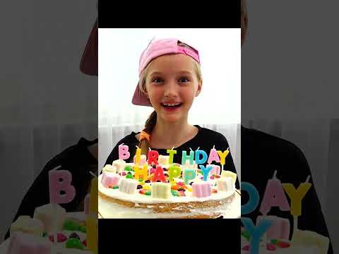 Супер Полина — Торт на день рождения за 10 минут