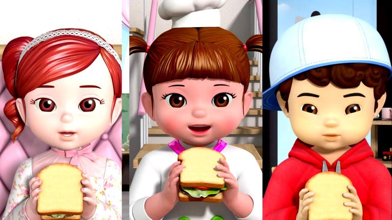 Теремок ТВ — Ресторан  Консуни 🍔  — песенки для детей