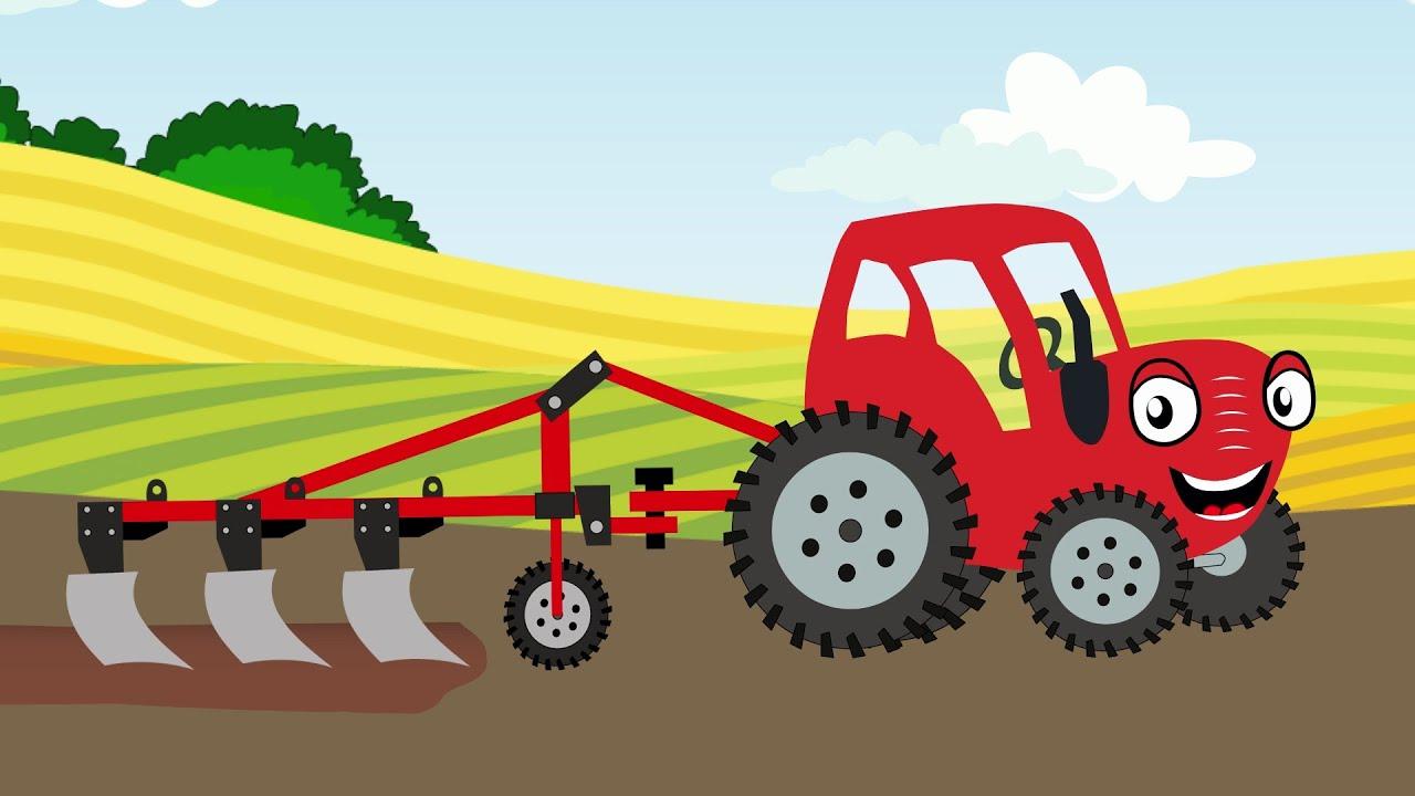 Теремок ТВ — Трактор Может — Тыр Тыр Трактор — Песенки для детей