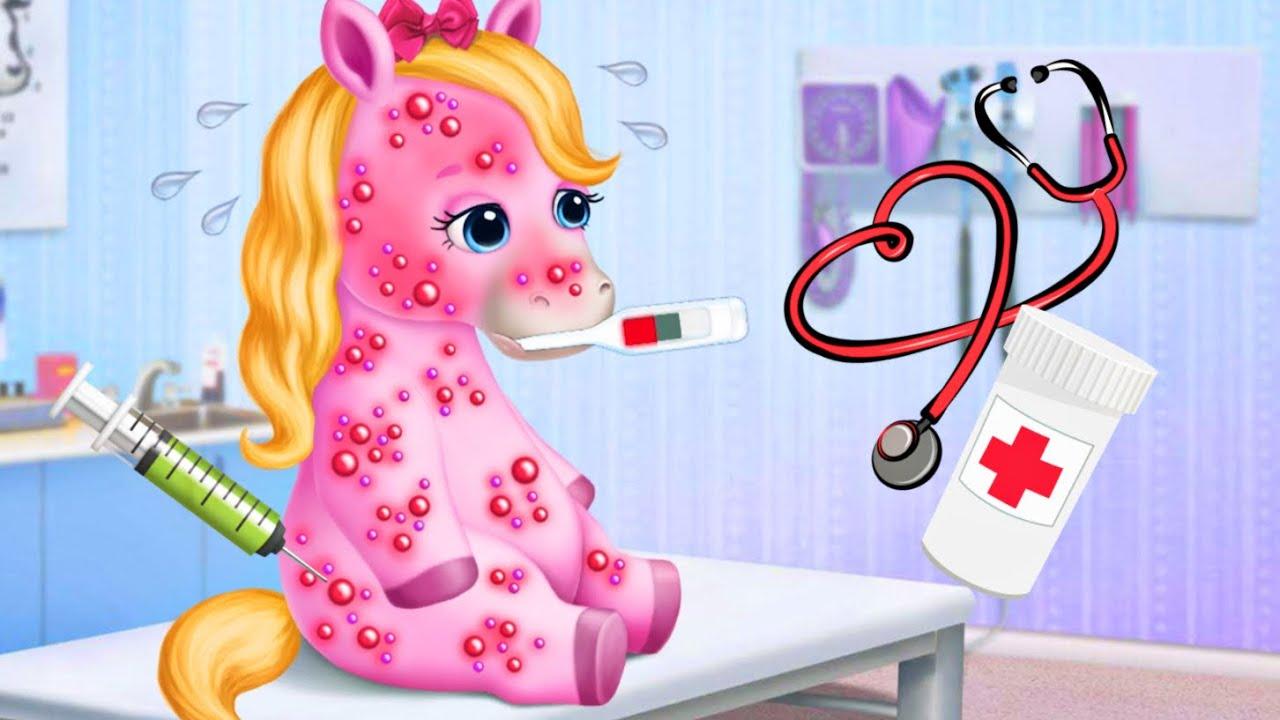 Зырики ТВ — 4 Сестренки Маленькие Радужные Пони — Игра. Зырики ТВ