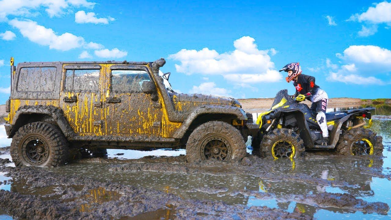 Данила Гро — КТО — КОГО? Непобедимый BRP vs Jeep Американская легенда.  Invincible BRP vs Jeep American Legend.