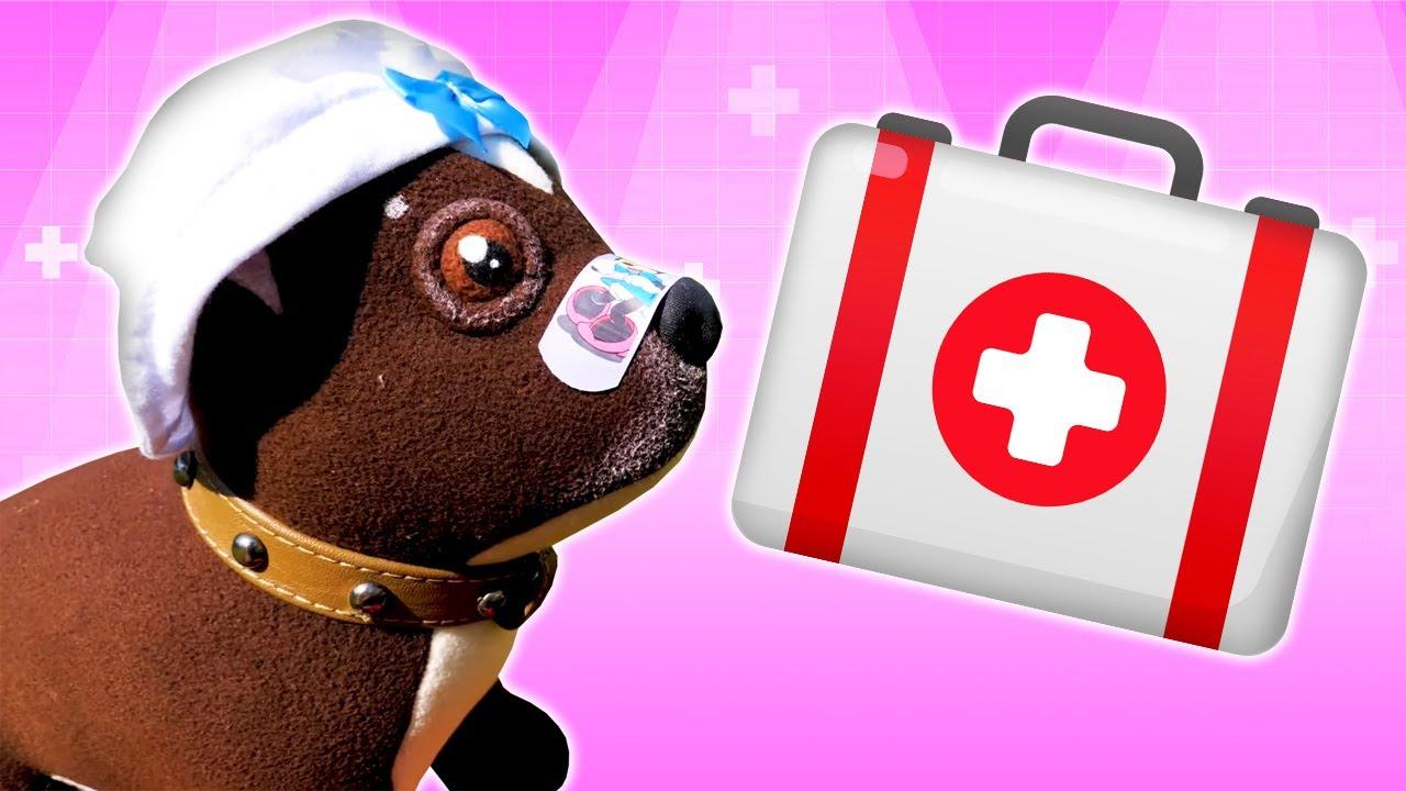 Как МАМА — Игрушка собачка Шоколадка и аптечка! Мультики для детей Как Мама про игрушки