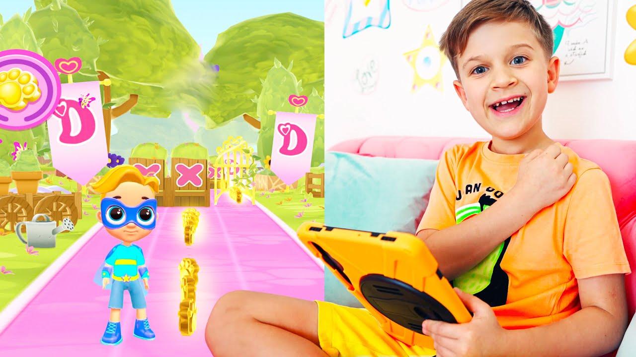 Кидс Рома Шоу — Roma and Diana Adventures in new games for kids