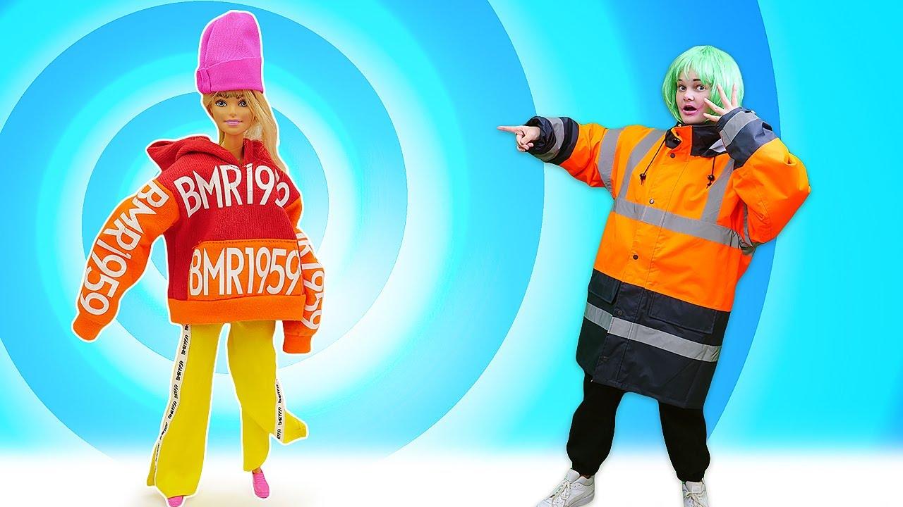 Лучшие Подружки — Одевалки игры для девочек — Кукла БАРБИ сменила имидж? — Игры макияж и причёска с Barbie Doll