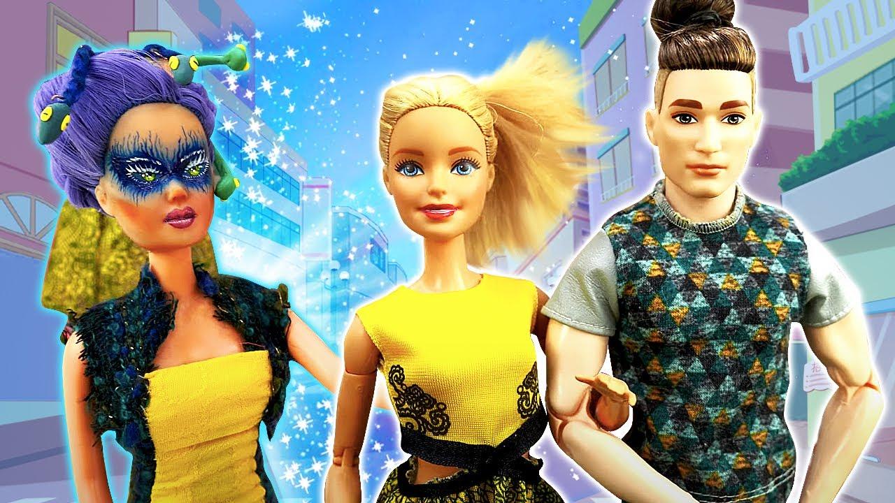 Лучшие Подружки — Видео куклы — Кто хочет поссорить Кена и Барби? Сборник видео игры одевалки для девочек с Barbie