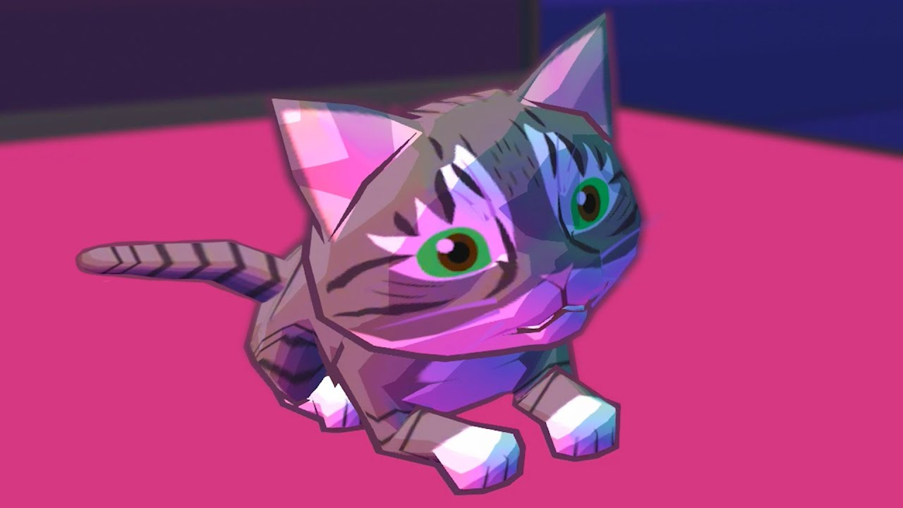 Пурумчата — Маленький Кот Проказник #3 Современный дом. Серый и белый котенок Catlateral Damage Remeowstered