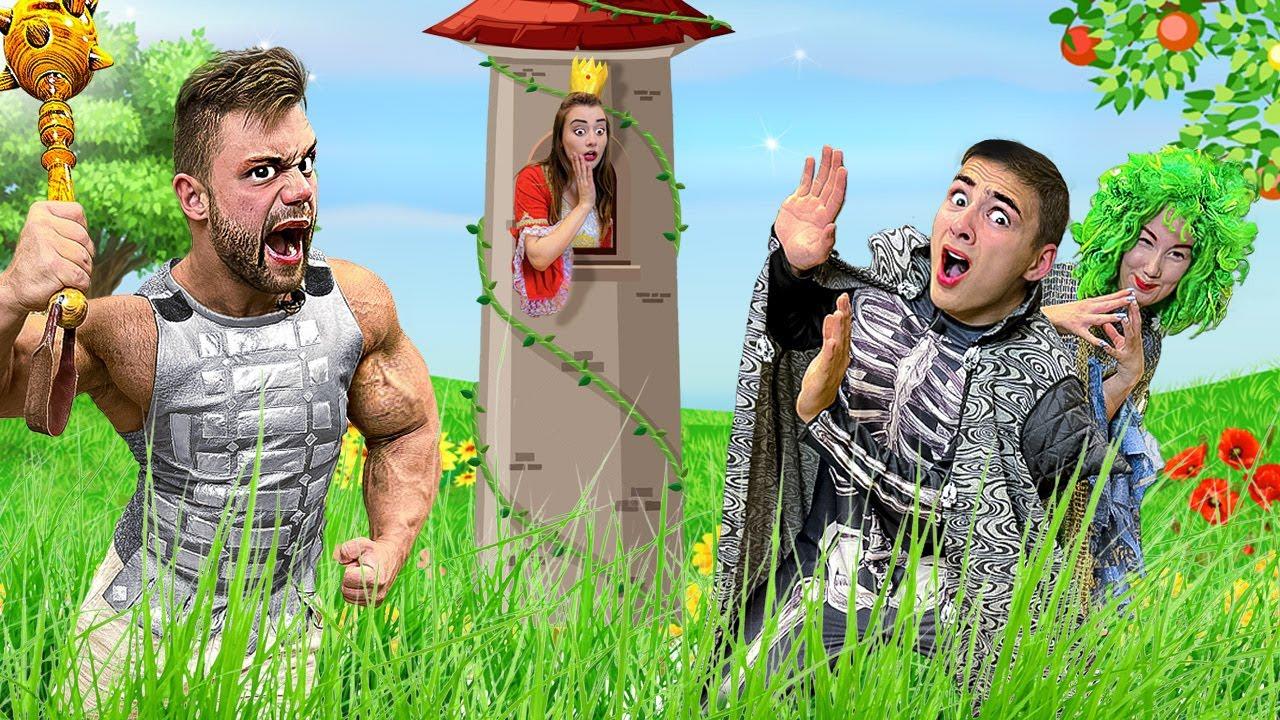Самый Сильный Человек В Мире Попал в Реальную Сказку! *Часть 2*