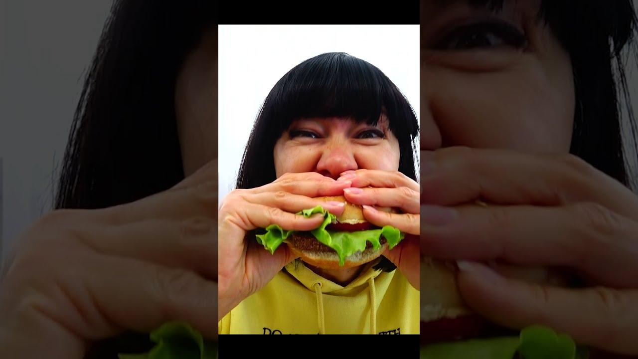 Супер Полина — Мама и гигантский бургер