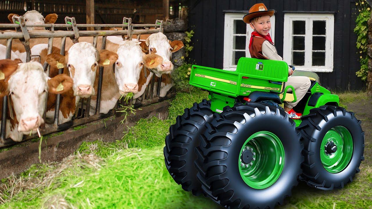 Супер Сеня — Сеня как Фермер на Машине